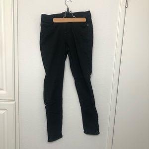 EUC Uniqlo Black Stretchy Skinny Ezy Jeans, large